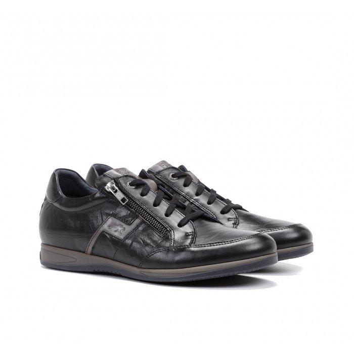 Zapatos Deportivos Hombre Fluchos Daniel F0210 Negro