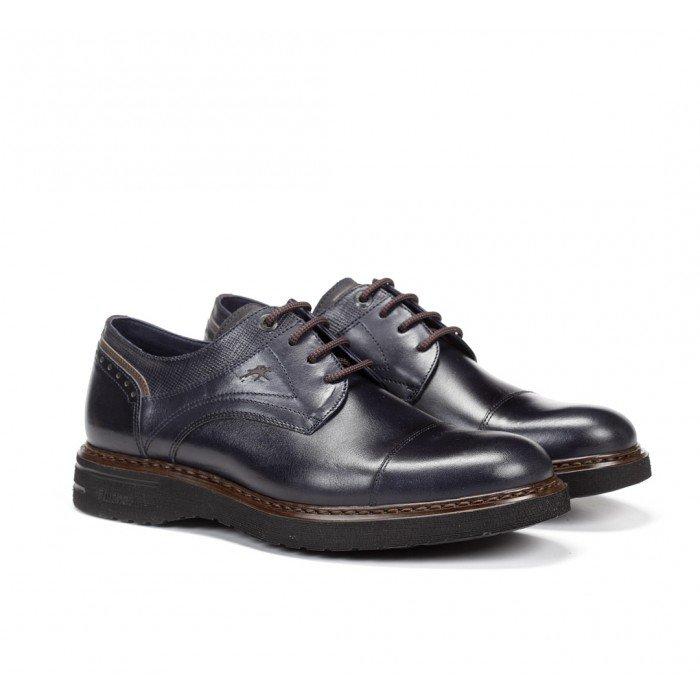 Zapatos Hombre Fluchos Warrior F0347  Azul Océano