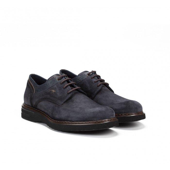 Zapatos Hombre Fluchos Warrior F0344 Azul Marino