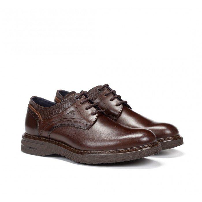Zapatos Hombre Fluchos Warrior F0344 Marrón Castaño