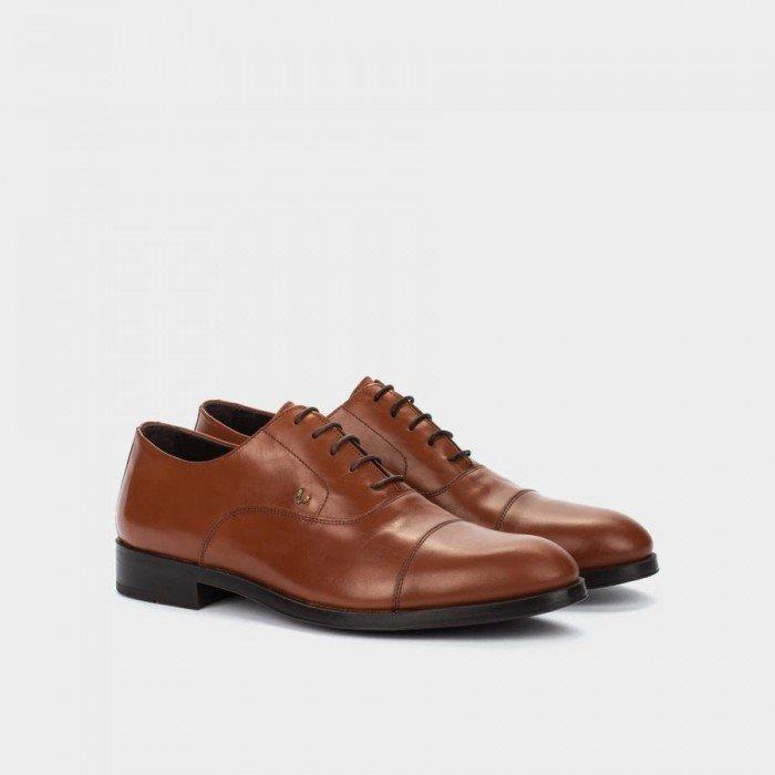 Zapatos Blucher Hombre Martinelli Empire 1492-2631K Marrón Cognac
