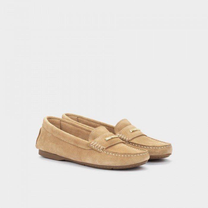 Zapatos Planos Mujer Martinelli Leyre 1413-3408SYM Beige Sand