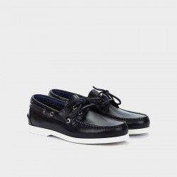 Zapatos Nauticos Hombre Martinelli Hans 1360-1145PYP Azul Navy