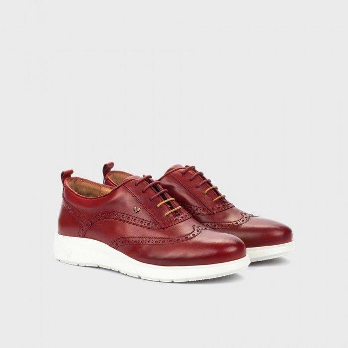 Zapatos Deportivos Hombre Martinelli Elland 1463-1118Z Rojo
