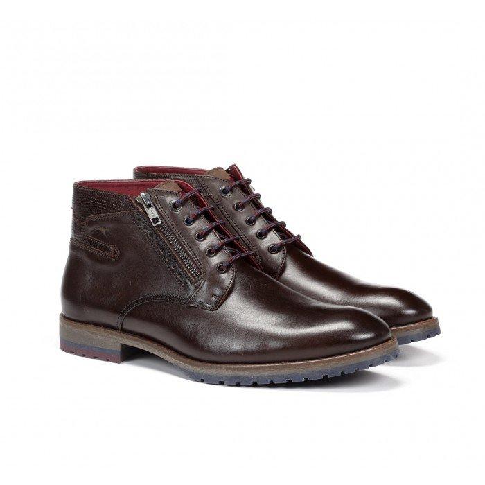 Zapatos Hombre Fluchos Cíclope F0568 Marrón Café