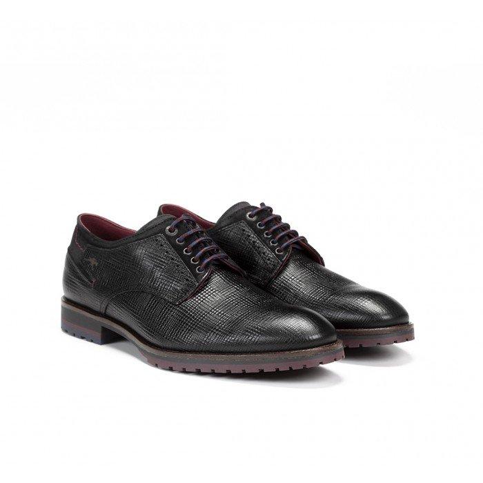 Zapatos Hombre Fluchos Cíclope F0273 Stereo Negro