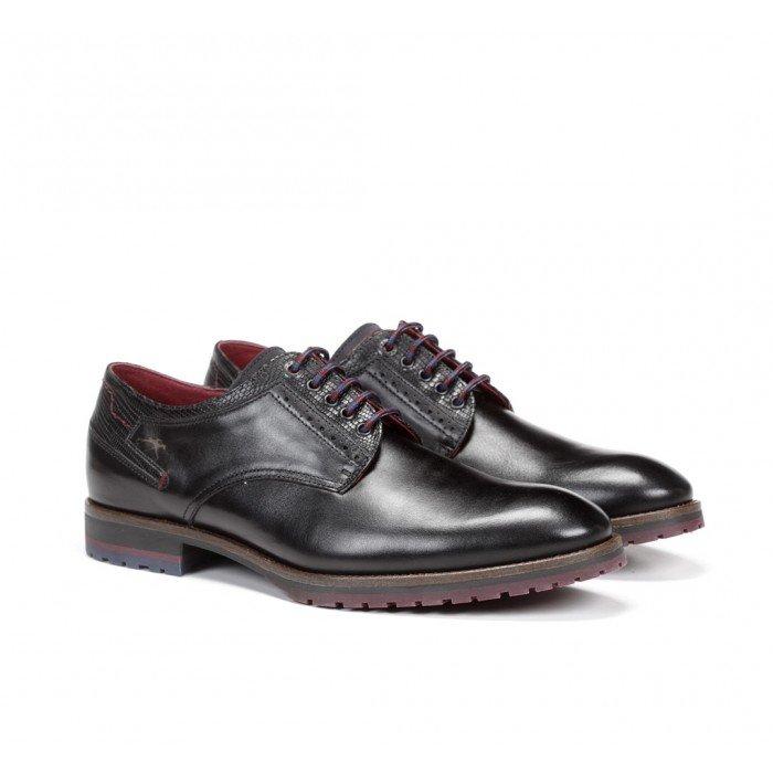Zapatos Hombre Fluchos F0273 Negro