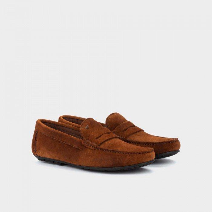 Zapatos Castellanos Hombre Martinelli Pacific 1411-2496X Marrón Nuez