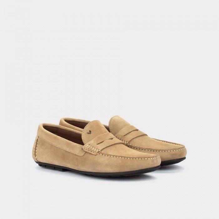 Zapatos Castellanos Hombre Martinelli Pacific 1411-2496X Marrón Sandstone