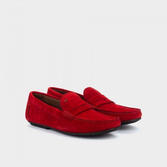 Zapatos Castellanos Hombre Martinelli Pacific 1411-2496X Rojo