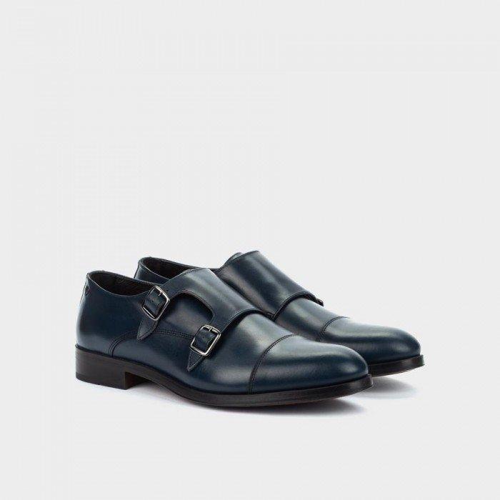 Zapatos Castellanos Hombre Martinelli Empire 1492-2632K Azul Marino