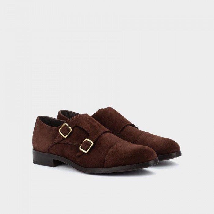 Zapatos Castellanos Hombre Martinelli Empire 1492-2632SYM Marrón