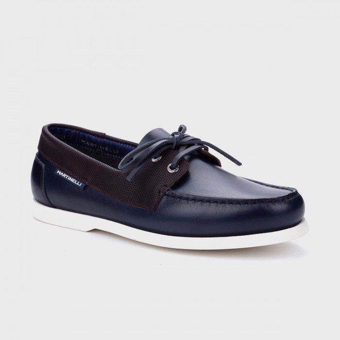 Zapatos Nauticos Hombre Martinelli Balmer 1476-2620B Azul Navy