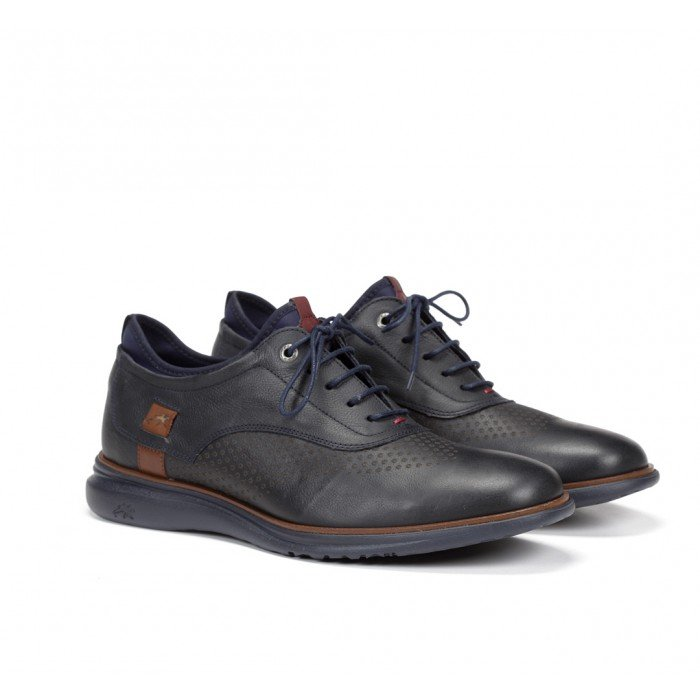 Zapatos Hombre Fluchos Fenix 9844 Desert Azul