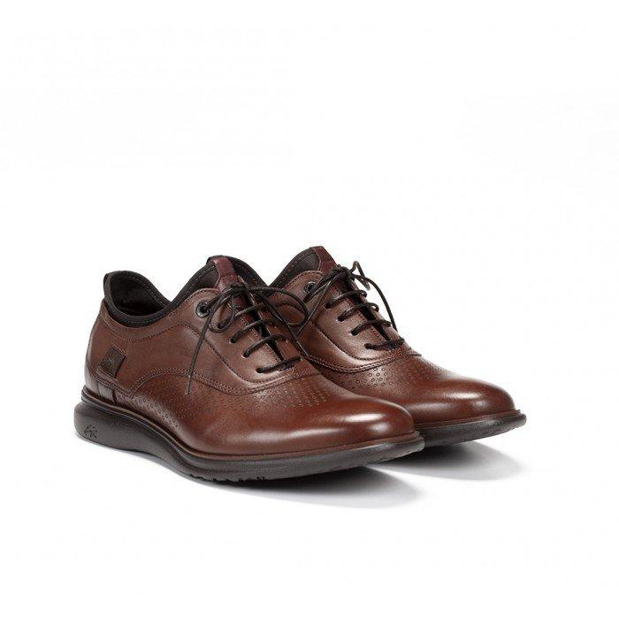 Zapatos Hombre Fluchos Fenix 9844 Camel