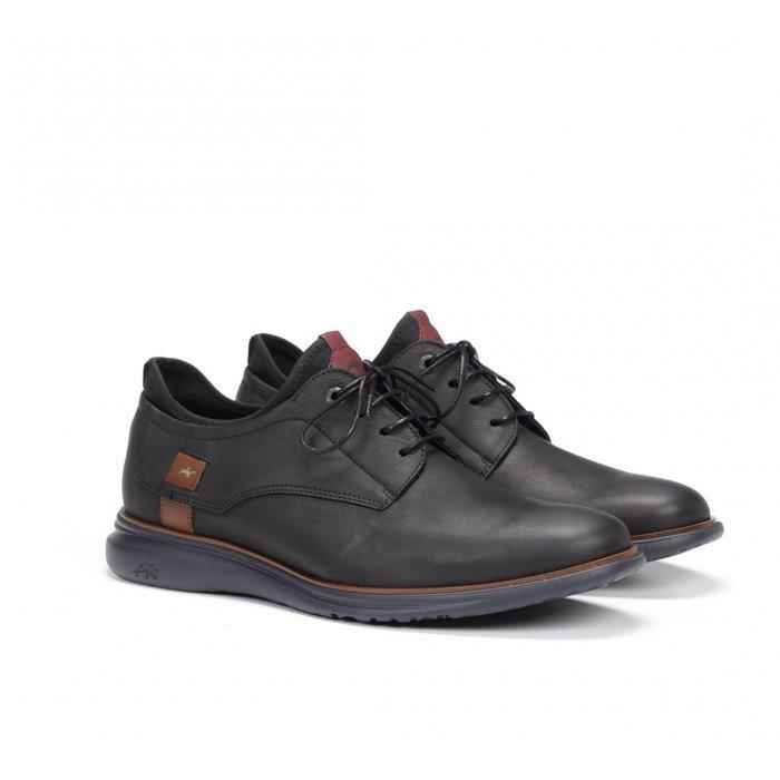 Zapatos Hombre Fluchos Fenix 9849 Desert Negro