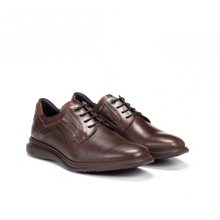Zapatos Hombre Fluchos Fenix F0235 Habana Marrón Castaño