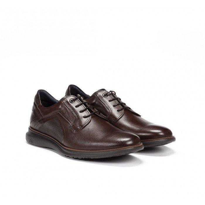Zapatos Hombre Fluchos Fenix F0235 Brezza Marrón Castaño
