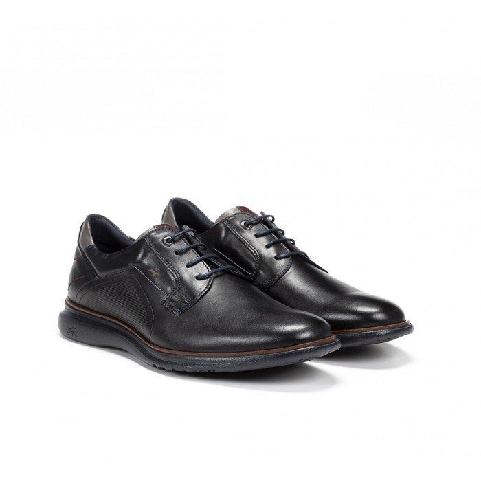 Zapatos Hombre Fluchos Fenix F0235 Habana Azul Marino