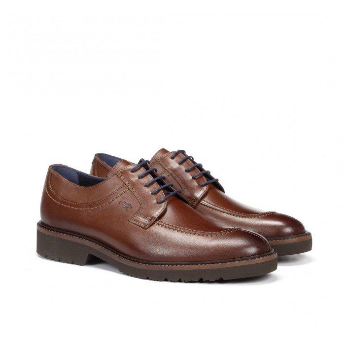 Zapatos Hombre Fluchos Cavalier F0045 Camel