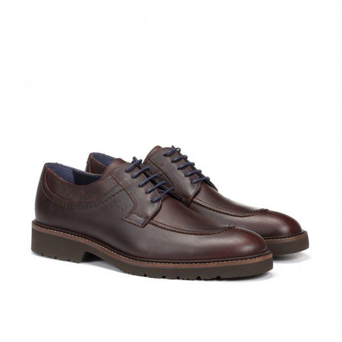 Zapatos Hombre Fluchos Cavalier F0045 Marrón Libano