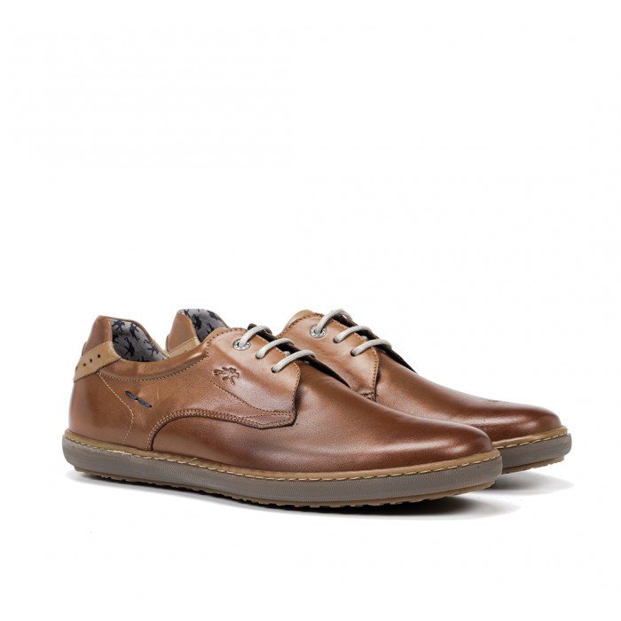 Zapatos Hombre Fluchos Timor F0474 Cuero