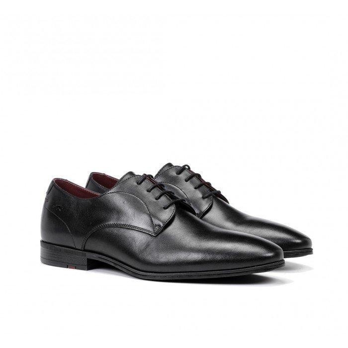 Zapatos Vestir Hombre Fluchos Adam F0842 Negro
