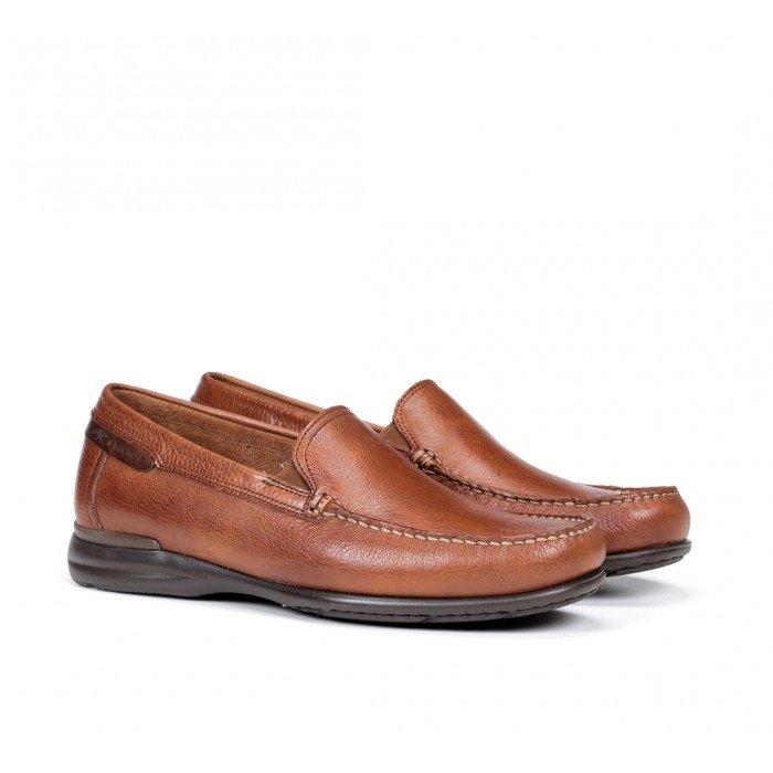 Zapatos Mocasines Hombre Fluchos Orion 8682 Cuero