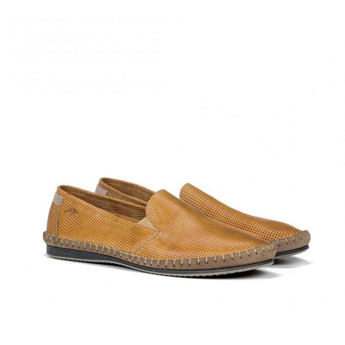 Zapatos Hombre Fluchos Bahamas 8674 Amarillo Timber