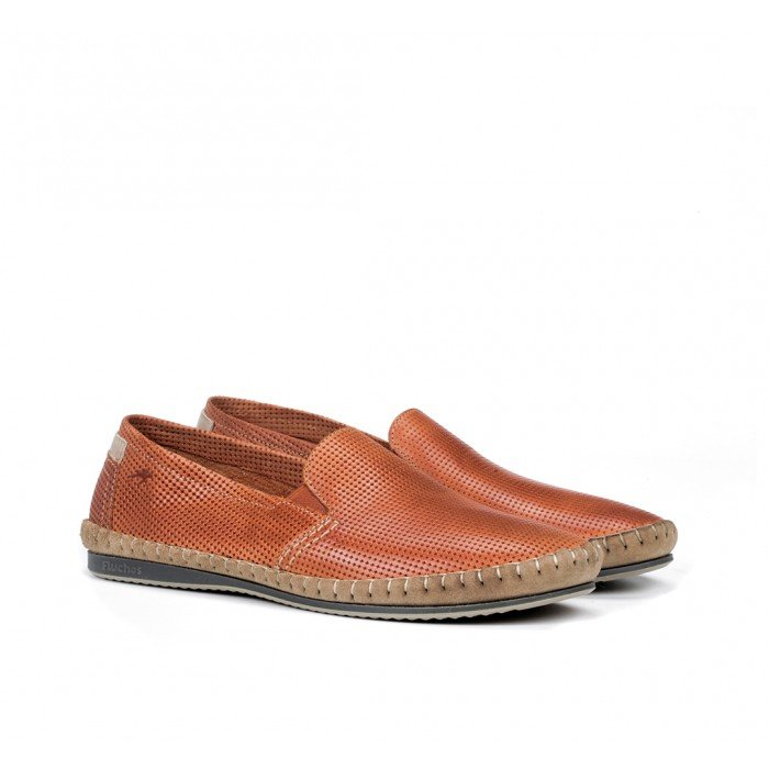 Zapatos Hombre Fluchos Bahamas 8674 Naranja Cotto
