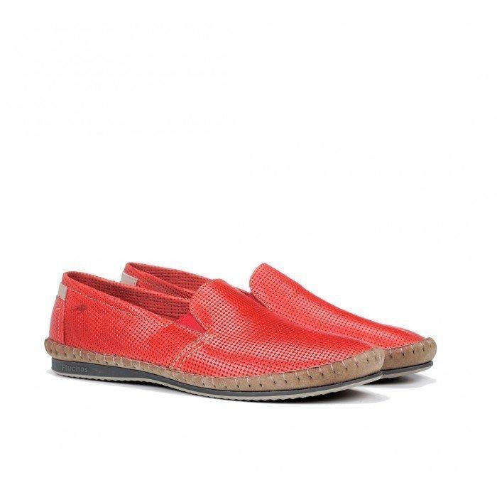 Zapatos Hombre Fluchos Bahamas 8674 Rojo