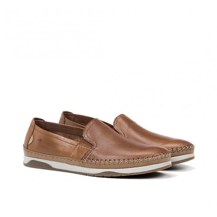 Zapatos Hombre Fluchos Kendal F0814 Cuero