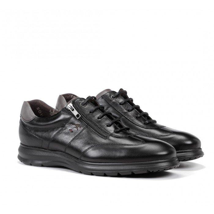 Zapatos Hombre Fluchos Zeta F0606 Soft Negro