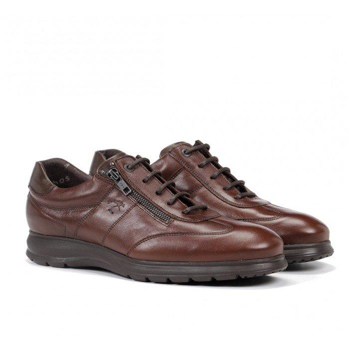 Zapatos Hombre Fluchos Zeta F0606 Marrón Bristol