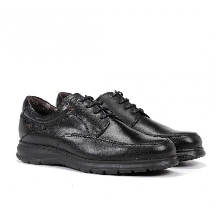 Zapatos Hombre Fluchos Zeta F0602 Negro