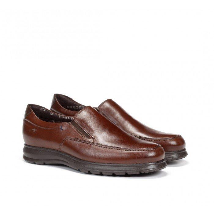 Zapatos Hombre Mocasines Fluchos Zeta F0603 Marrón Bristol