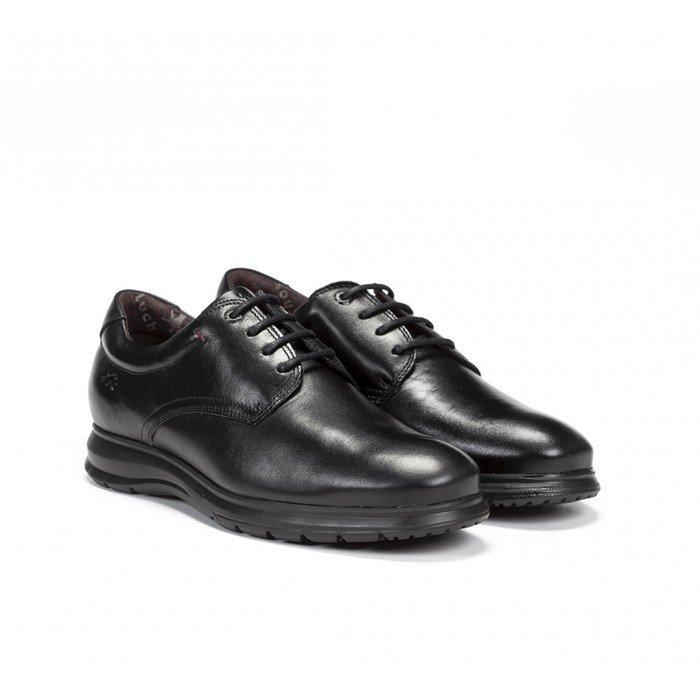 Zapatos Hombre Fluchos Zeta F0604 Negro
