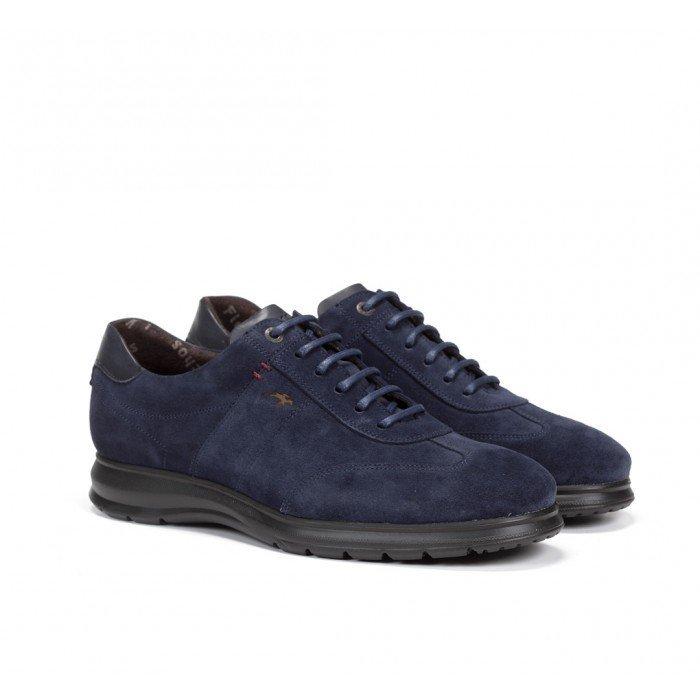 Zapatos Hombre Fluchos Zeta F0607 Azul
