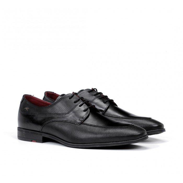 Zapatos Vestir Hombre Fluchos Adam F0843 Negro