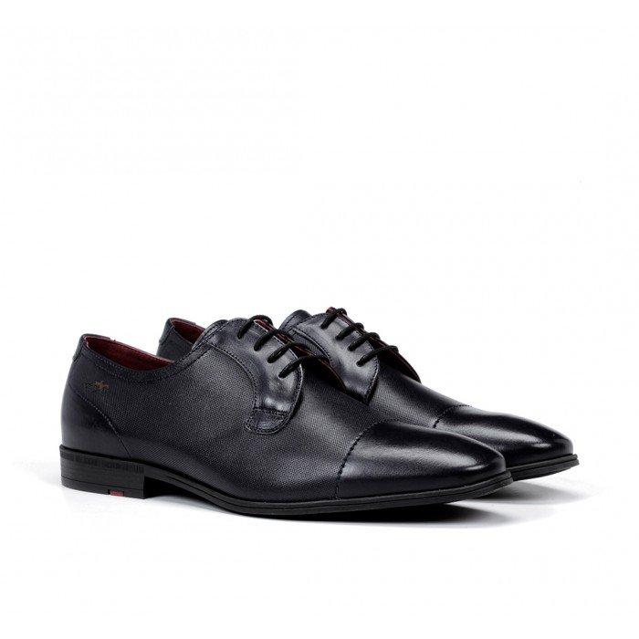 Zapatos Vestir Hombre Fluchos Adam F0845 Azul Oceano