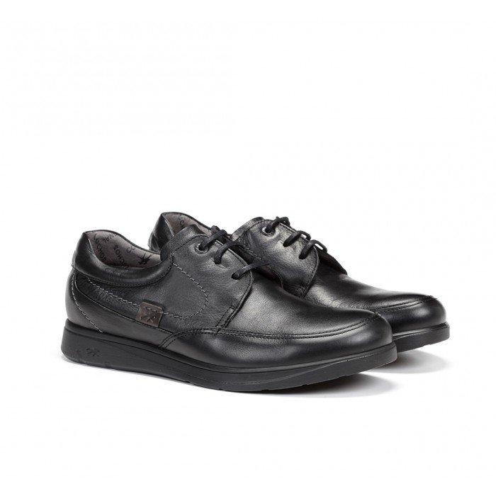 Zapatos Hombre Fluchos New Profesional F0050 Mallorca Sanotán Negro