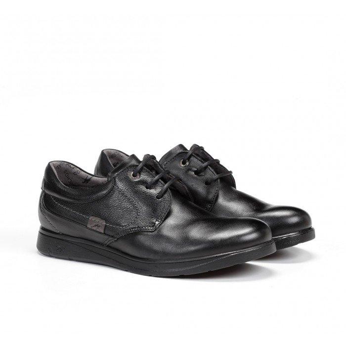 Zapatos Hombre Fluchos New Profesional F0052 Mallorca Sanotán Negro