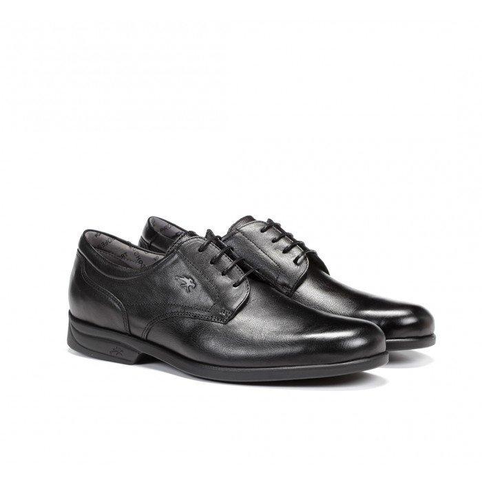 Zapatos Hombre Fluchos Maitre 8904 Mallorca Sanotan Negro