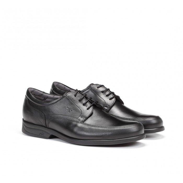 Zapatos Hombre Fluchos Maitre 8903 Mallorca Sanotan Negro