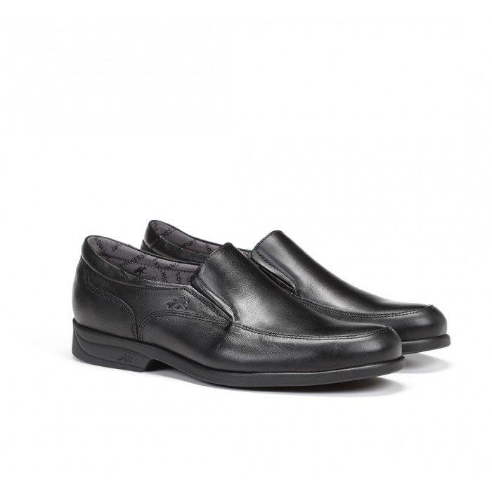 Zapatos Hombre Mocasines Fluchos Maitre 8902 Mallorca Sanotán Negro