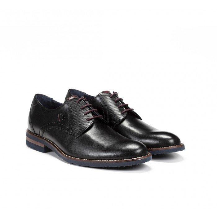 Zapatos Hombre Fluchos Olimpo F0263 Negro