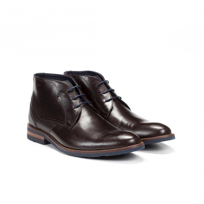 Zapatos Hombre Fluchos Olimpo F0258 Marrón Café