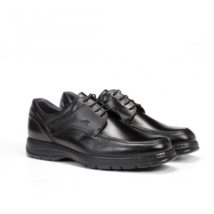 Zapatos Hombre Fluchos Crono 9142 Negro