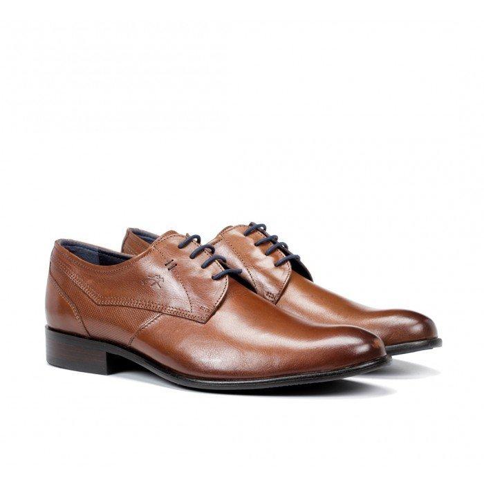 Zapatos Vestir Hombre Fluchos Apolo 9320 Cuero