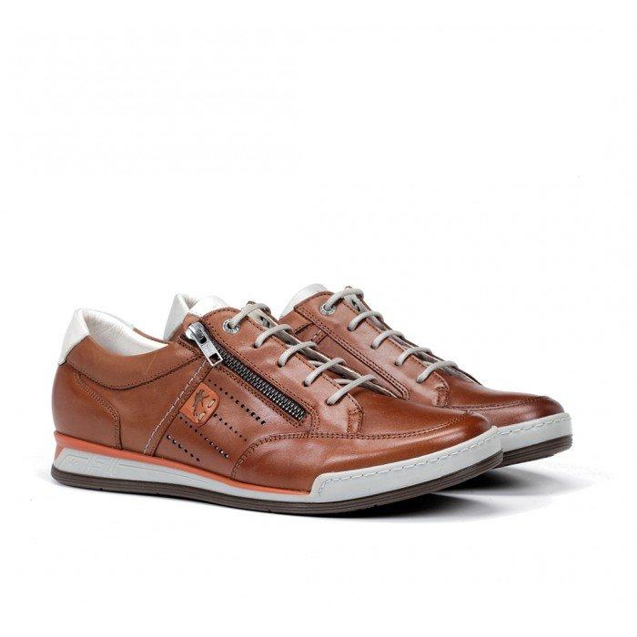 Zapatos Deportivos Hombre Fluchos Etna F0148 Cuero
